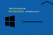 How to Fix Windows 10 Activation Error 0x004f074