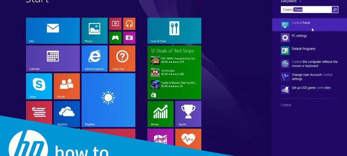 How to Change Window Searches in Windows 8?