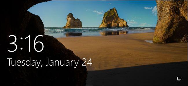 Image on Lock Screen in Windows 8?