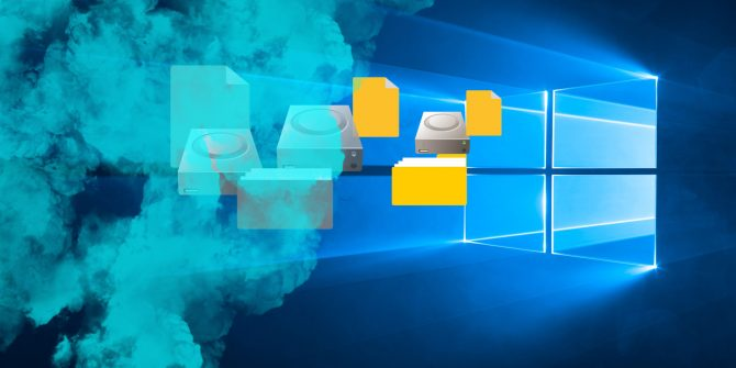 Windows 10: Hide Folders and Find them again