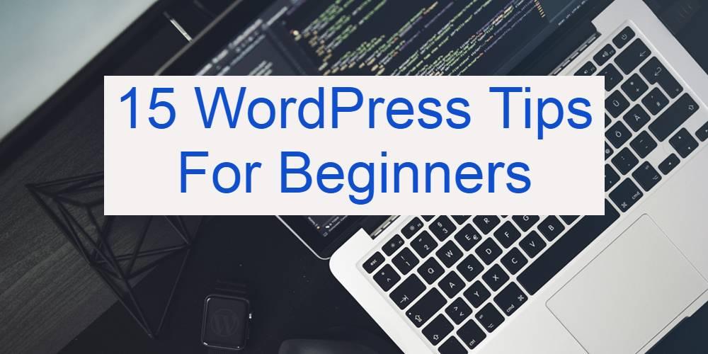 15 WordPress Tips